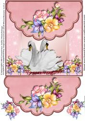 Twee Zwanen Envelope Style Card Topper