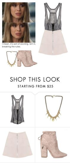 """""""Brooke Maddox - mtv scream"""" by shadyannon ❤ liked on Polyvore featuring Aerie, Justine Clenquet, Miss Selfridge and Kendall + Kylie"""