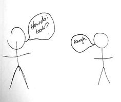 Stick Humour thanks to Cathy Young Stick Figure Tattoo, Stick Figure Drawing, Stick Men Drawings, Easy Drawings, Funny Stickman, Inappropriate Laughter, Funny Stick Figures, It's All About Perspective, Jokes About Men
