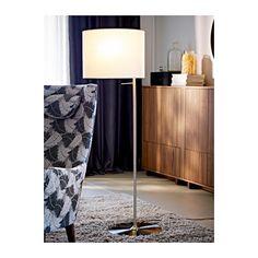 STOCKHOLM Floor lamp, white - white