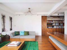 Reinterpreting The Use Of A Versatile Living Space : Transformer Renovation Project #interiors