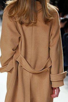 Camel Coat . style.com