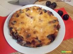 Clafoutis alle ciliegie  #ricette #food #recipes