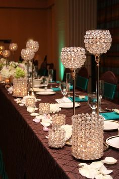 1088 Best Centerpieces Bring On The Bling Crystals