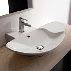 Zefiro 70/R Mensola Wall Mounted or Above Counter Bathroom Sink... - http://greatbathroomsinks.com/zefiro-70r-mensola-wall-mounted-or-above-counter-bathroom-sink/