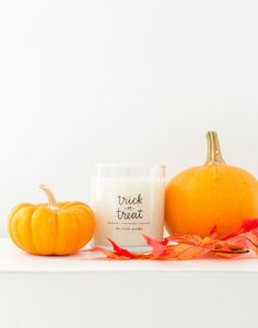 Trick-or-treat yourself (or a friend) to this Halloween-themed candle. It's a boo-tiful touch for the enchanting season. Every sale supports female refugees at Prosperity Candle in the United States.