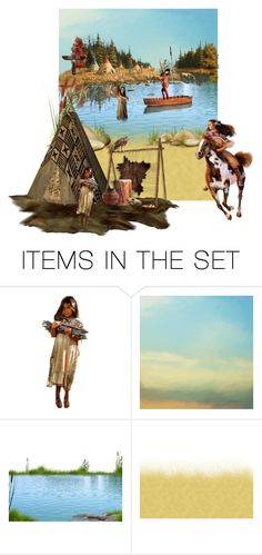 """""""Camp"""" by sue-wilson1967 ❤ liked on Polyvore featuring art"""
