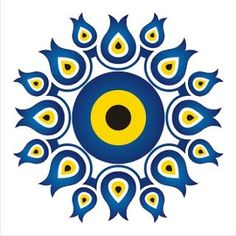 Freelance Grafik Tasarım Hizmetleri: Nazar Boncuğu Mandala Doodle, Mandala Art Lesson, Mandala Drawing, Diy Tattoo, Pottery Painting Designs, Paint Designs, Freelance Graphic Design, Graphic Design Services, Logo Design
