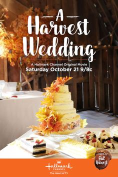 A Harvest Wedding - Jill Wagner and Victor Webster - Sarah (Wagner) heads to the countryside to plan a high profile wedding during the fall harvest. Make a date for the wedding on October 21 at 9/8c on Hallmark Channel! #FallHarvest #HallmarkChannel