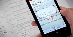 PhotoMath, une application pour résoudre des équations mathématiques ...