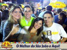 Antônio Martiniano Neto - Araruna, curtindo o Maior São João do Mundo com seus amigos (Carine Lira, Welch Martiniano e Werlley Targino) !