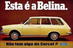 Anúncio Ford Corcel Belina 1970