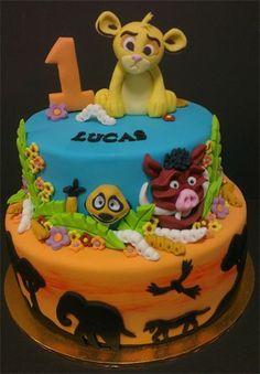 Lion King Cake cakepins.com