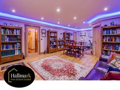 Suitable for a variety of uses, but how perfect would this be for a cinema room! Cinema Room, Wakefield, Cinema Movie Theater, Movie Theater