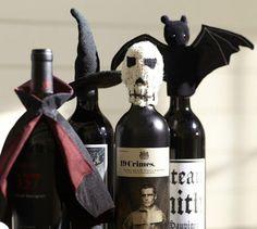 Halloween Wine Bottle Topper - Pottery Barn