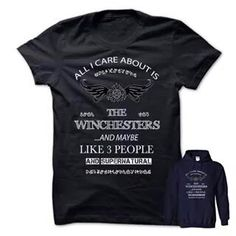 The Winchesters - shirt shirt. The Winchesters, logo tee,tshirt tank. ORDER NOW =>. Frog T Shirts, Tee Shirts, Linen Tshirts, Slogan Tee, Shirt Refashion, Comfy Hoodies, Sweater Shirt, Sweater Nails, Mohair Sweater