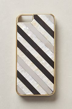 Nacre Striped iPhone 5 Case - anthropologie.com #anthrofave