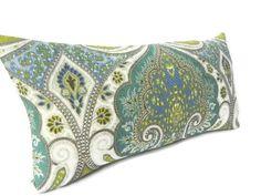 "Kravet ""Latika"" Ikat Decorative Pillow Cover 10X20-BOTH SIDES-Home Decor Fabric-Throw Pillow-Accent Pillow-Lumbar Pillow-Throw Pillow"