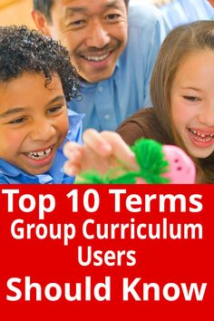 Here's a list of the top 10 terms every Group curriculum user should know. It'll help you keep up to speed with the lingo…and know what in the world people are talking about!