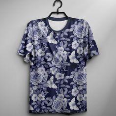 Camiseta Blue Garden