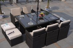 Rattan Cube Garden Furniture Sale Serena 4 seat cube including 4 footstools free delivery discount buy 6 seat cube including 4 footstools free delivery discount price 999 workwithnaturefo