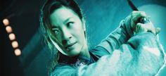 Michelle Yeoh in una scena del film La congiura della pietra nera di Chao-Bin Su e John Woo.