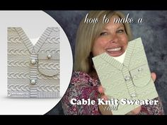 BLOG HOP & GIVEAWAY: How to make a Cable Knit Sweater Card | Stampin Up Demonstrator - Tami White - Stamp With Tami Crafting and Card-Making Stampin Up blog