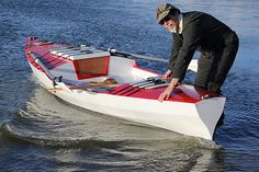 The Perfect (small wooden monohull sailing rowing camping) Boat
