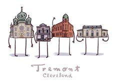 Tremont, Cleveland (5x7)