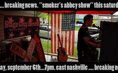 News Crawl.. Smoker's Abbey Show September 6th
