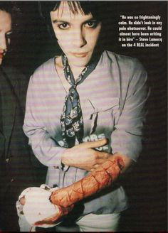 Richey Edwards of The Manic Street Preachers.