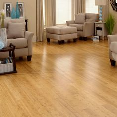 Exotic hardwoods such as bamboo and cork offer durability, a range of interesting colors and unique patterns that set it apart from traditional hardwood.  And because they are natural insulators, exotic hardwoods are warmer on the feet.