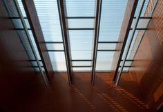 Debreceni Ítélőtábla, #árnyékolók, #építészet, #alumínium, #üvegtető Blinds, Divider, Curtains, Room, Furniture, Home Decor, Bedroom, Decoration Home, Room Decor