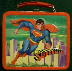Vintage Superman lunch box. c 1978. Buy now for $50.00 on GoAntiques