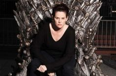 Audrey would like to rule the world from the Iron Throne.