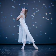 Evgenia Obraztsova performing Romeo and Juliet at the Dance Open 2013. Photo by Nikolay Krusser