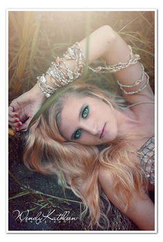 blonde mermaid, model  Wendy Kathleen's Photography
