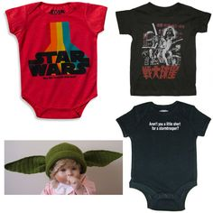 Star Wars Clothes (Onesies, Snapsuits, T-Shirts and Hats) for Babies and Kids — moderndaydad My Baby Girl, Our Baby, Baby Love, Star Wars Baby Clothes, Star Wars Outfits, Poor Children, Cute Baby Animals, Beautiful Babies, Future Baby
