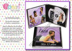 CD PERSONALIZADO: ideal souvenir de 15 y casamientos