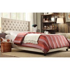 You'll love the Declare Upholstered Panel Bed at Wayfair - Great Deals on all Furniture  products with Free Shipping on most stuff, even the big stuff.