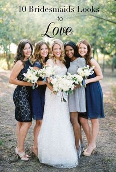 Choosing a bridesmaid dress can be tricky, since each girl has a different body type and complexion. First, don't give up on the idea of having matching bridesmaids. It is possible to find a dress that everyone will like and look good in! Many dress styles are now designed with flattering features. If you do choose to go with mismatched dresses, the options are endless. Give the girls some direction with color and fabric, but then let them choose. Consult eBay for more bridesmaid dress tips.