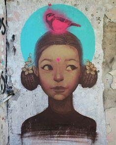 Inspiração - EL JAZMÍN por Cheko Visite Artedrops.com para mais inspiração!
