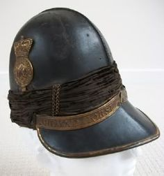 A Waterloo Officers Royal Horse Artillery Tarleton Helmet, Armchair General
