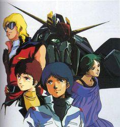 Mobile Suit Zeta Gundam, one of my favorite Gundam series so far