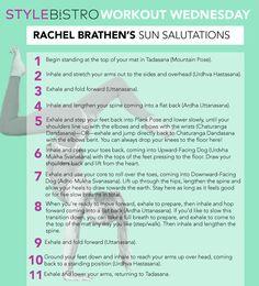 Workout Wednesday: 'Yoga Girl' Rachel Brathen's Sun Salutations