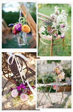 Treats for your Seats – Wedding Chair Decor