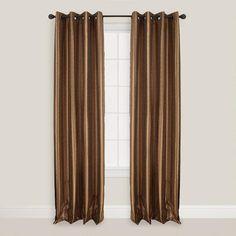 One of my favorite discoveries at WorldMarket.com: Sienna Bombay Batik Curtain