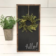 34 Beautiful Porch Wall Decor Ideas to Make Your Outdoor Area More Welcoming - Rina Watt Blogger - Home Decor, DIY and Recipes Metal Tree Wall Art, Metal Wall Decor, Wall Art Decor, Metal Art, Patio Wall Decor, Outdoor Wall Decorations, Old Shutters, Chalkboard Signs, Hanging Chalkboard