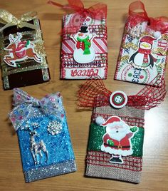 Happybird S Crafting Haven Diy Gorgeous Gift Card Holders Ornaments