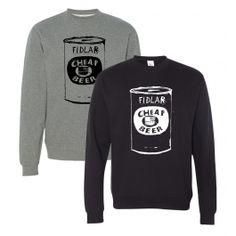 FIDLAR - Cheap Beer Crewneck Sweatshirt